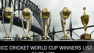 Video CRICKET WORLD CUP WINNERS, RUNNER UPS, MAN OF THE SERIES LIST FROM 1975 TO 2015 MP3, 3GP, MP4, WEBM, AVI, FLV Oktober 2018