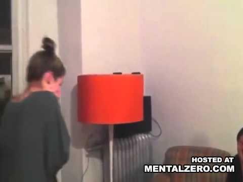 Two girls randomly take turns punching each other in the face
