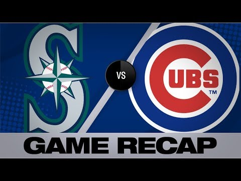 Video: Schwarber's bases-clearing triple pushes Cubs | Mariners-Cubs Game Highlights 9/2/19