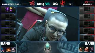 ahq vs XG, game 1
