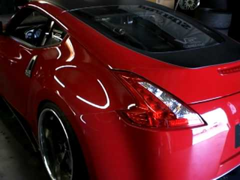 Venaci Nissan 370Z on VS124 20x12 wheels
