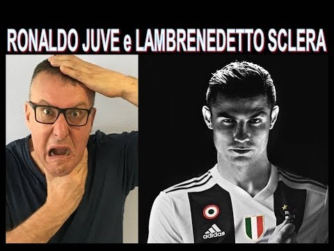 Lambrenedetto si incazza di brutto per Cristiano Ronaldo alla Juve !!!