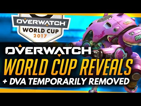 Overwatch  WORLD CUP REVEALS - DVA Temp Remove  More Roundup