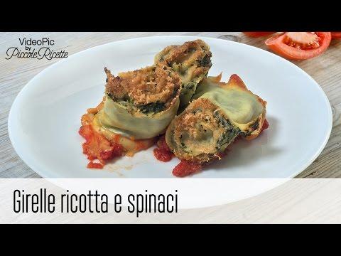 girelle ricotta e spinaci - ricetta