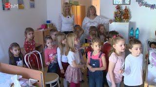 Děti z MŠ Hálková potěšily klienty domova pro seniory
