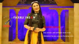 Dilnoza Kubayeva-Faxrli Inson Haqida
