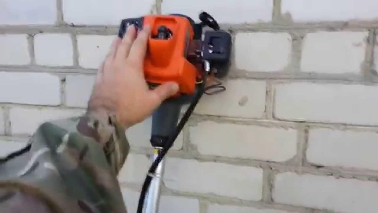 Садовый триммер бензиновый Hammer