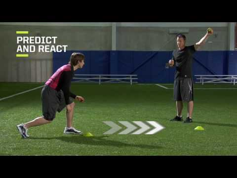 Hockey Off-Ice Training Drill #14: Ball Drop for Reaction