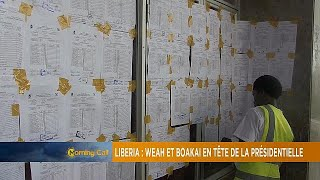 Liberia election: Weah, Boakai in early result lead