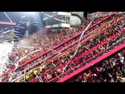 Recibimiento de Liga Deportiva Alajuelense --Final LDA vs CSH-- 09 de Mayo 2016 - La 12 - Alajuelense