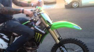 10. Kawasaki KX 450f 2012 Stock Exhaust VS Pro Circuit TI-5 Full Exhaust !!!