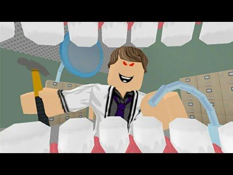 KORKUNÇ DIŞÇI GERI DÖNDÜ | ROBLOX ESCAPE THE DENTIST OBBY_Ön is fél a fogorvosnál? De mit csinálnak mások?
