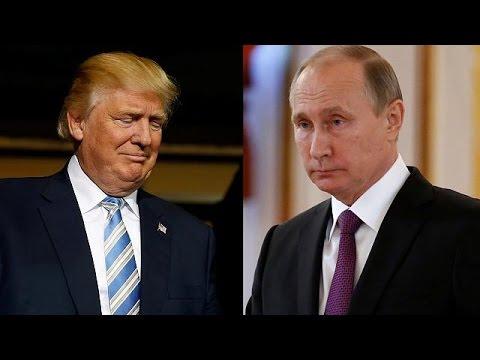 Τραμπ – Πούτιν: «Συντονισμός» ΗΠΑ – Ρωσίας κατά της τρομοκρατίας