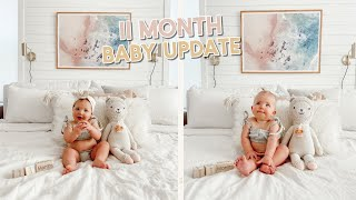 11 month baby update!! cove finally has teeth! by Aspyn + Parker
