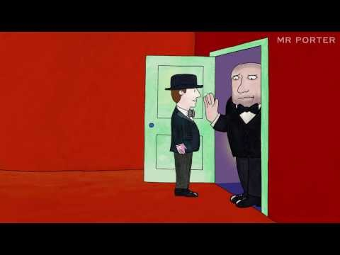 Mr Porter creates festive episode of Mr Benn using some of the original 40 year old artwork video