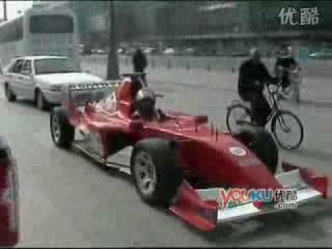 Chinese brothers and their handmade Formula 1 racing