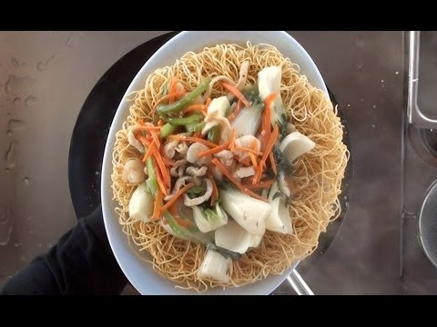 Hong Kong Style Pan Fried Noodles Vol: 1