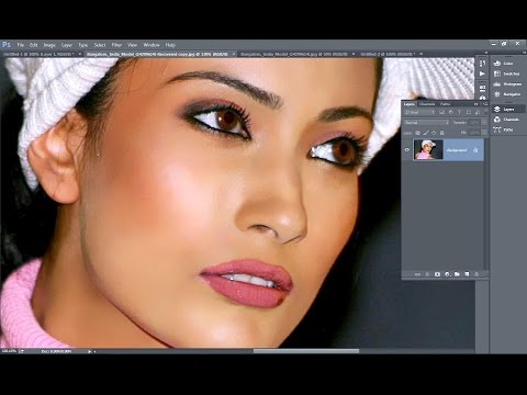 Photoshop Skin Retouching Plugin - Portraiture