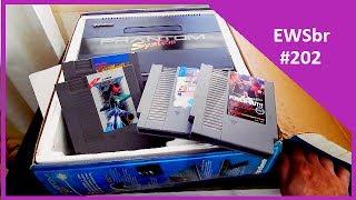 Confiram comigo mais uma caça aos games e desta vez com um dos melhores senão o melhor clone de NES 8 BITS feito no Brasil !!  Todas trocas feitas com amigos colecionadores da região onde moro Canal 3 Games clássicoshttps://www.facebook.com/canal3gamesclassicos/