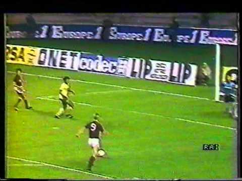coppa uefa 1986-87: nantes - torino 32esimi di finale - andata!