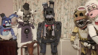 Five Nights at Freddy's comes to life with Giant Sized Models of FNAF Characters, hand Crafted by ConyFuntime Freddy Video: https://www.youtube.com/watch?v=fUsyX2K2z1wFuntime Foxy Video: https://www.youtube.com/watch?v=hF7ze28A42YChica video: https://www.youtube.com/watch?v=oBLm9fKCR-kEnnard Video: in DevelopmentNightmare Fredbear / Nightmare, Video: in DevelopmentNightmare Bonnie (improved Detail) : https://www.youtube.com/watch?v=Bi9l1ocQshwNightmare Bonnie: https://www.youtube.com/watch?v=bSDjjo4DfigFoxy:  https://www.youtube.com/watch?v=CtPbOwuGW5kSong : C5 - PlushTrap: https://www.youtube.com/watch?v=xeH9VJe7l-EBonnie: https://www.youtube.com/watch?v=3bGHLN9dpykSpringTrap: https://www.youtube.com/watch?v=P7euYae63DEPhantom Mangle: https://www.youtube.com/watch?v=5ZO9YpZfOT4Nightmare Mangle: https://www.youtube.com/watch?v=LubBr9PjWgEMangle: https://www.youtube.com/watch?v=QtLgsZUOo3ISong: C5 - To The Starshttps://soundcloud.com/cloneman5https://twitter.com/theCloneman5Download the song for Free here:https://www.heroboard.es/download/?id...