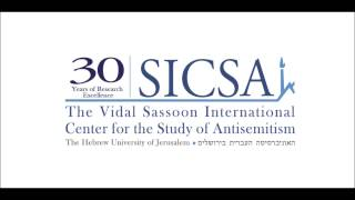 Research Seminar - Jews And Antisemitism In Europe Today