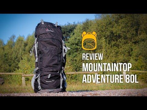 Mountaintop Adventure 80 Liter - Review auf Deutsch - Rucksack Test (видео)