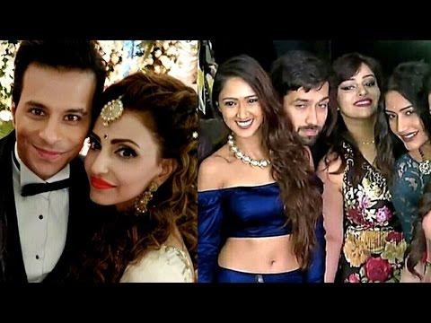 Ishqbaaz actress Navina Bole's Wedding Reception |