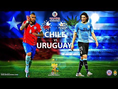 Uruguay Vs Chile World Cup Football Match|