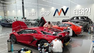 Video The MOST LUXURIOUS Detail Shop IN THE WORLD?!   A Tour of NVN London MP3, 3GP, MP4, WEBM, AVI, FLV Agustus 2019