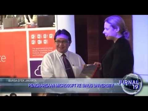 [Liputan] Penghargaan Microsoft untuk Binus University