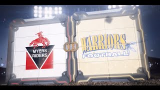 NCAFA 2K16 - BANTAM - Week 5 Bell Warriors vs Myers Riders