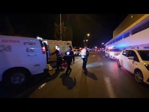 Attaque à la voiture-bélier à Jérusalem, le suspect arrêté