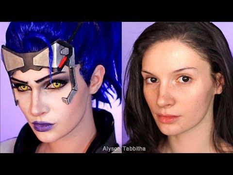 Talon Widowmaker (Overwatch) Makeup Transformation - Cosplay Tutorial