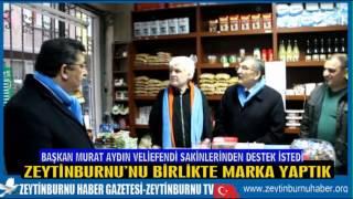 Başkan Murat Aydın Veliefendi Sakinlerinden Destek İstedi