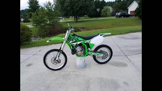 4. 2001 Kawasaki KX250 For Sale!