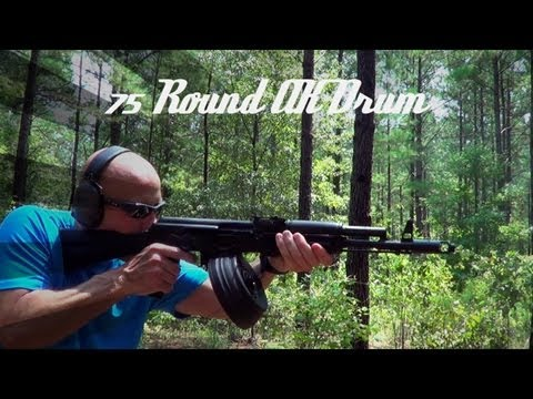 Video Romanian 75 Round AK-47 Drum (top loading) Review (HD) download in MP3, 3GP, MP4, WEBM, AVI, FLV January 2017