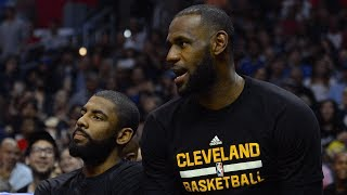 "On his radio show, Stephen A. Smith says that he has spoken to LeBron James' camp, which confirmed that James would be temped to beat Kyrie Irving's ""ass"" because of the trade rumors. ✔ Subscribe to ESPN on YouTube: es.pn/SUBSCRIBEtoYOUTUBE✔ Watch ESPN on YouTube TV: es.pn/YouTubeTVGet more ESPN on YouTube:► First Take: es.pn/FirstTakeonYouTube► SC6 with Michael & Jemele: es.pn/SC6onYouTube► SportsCenter with SVP: es/pn/SVPonYouTubeESPN on Social Media:► Follow on Twitter: http://www.twitter.com/espn► Like on Facebook: http://www.facebook.com/espn► Follow on Instagram: http://www.instagram.com/espnVisit ESPN on YouTube to get up-to-the-minute sports news coverage, scores, highlights and commentary for NFL, NHL, MLB, NBA, College Football, NCAA Basketball, soccer and more. More on ESPN.com: http://www.espn.com"