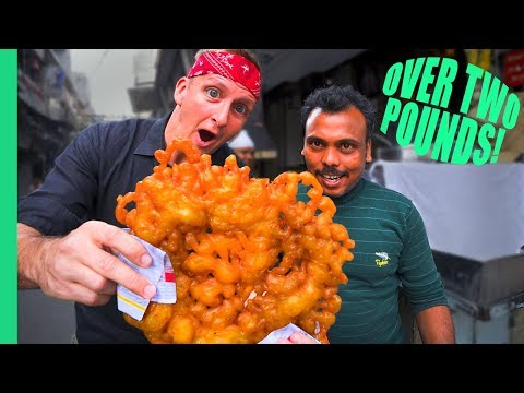 RECORD BREAKING JALEBI! You won't believe how much it cost... (видео)