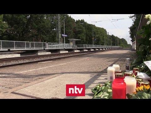 Tödlicher Stoß: In Voerde vor den Zug gestoßen - Verdä ...