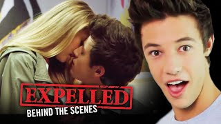 Cameron Dallas And Expelled Cast First Kiss Stories    Expelled Movie Behind The Scenes