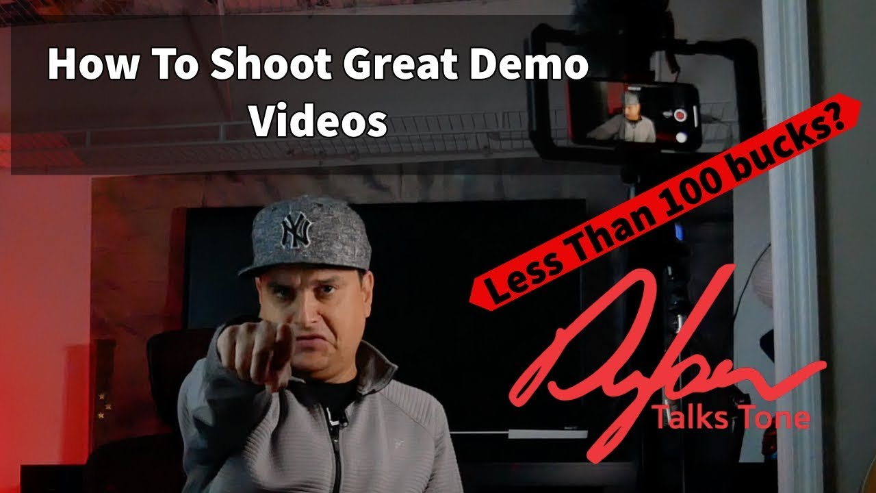 How To Shoot Great Guitar Videos For Less Than 100 Dollars