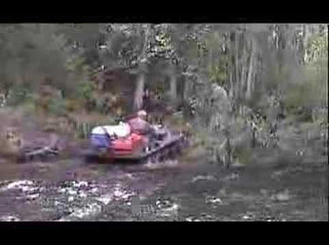 Argos Crossing Swollen Creek