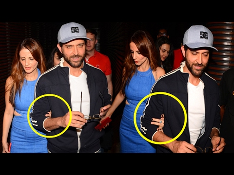 Video Sussanne Holds Hrithik Roshan's Hand In Public Confirms They Are Back Together download in MP3, 3GP, MP4, WEBM, AVI, FLV January 2017