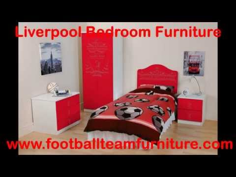 Liverpool Football Bedroom Furniture
