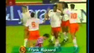Frank Rijkaards Tore für die Niederlande