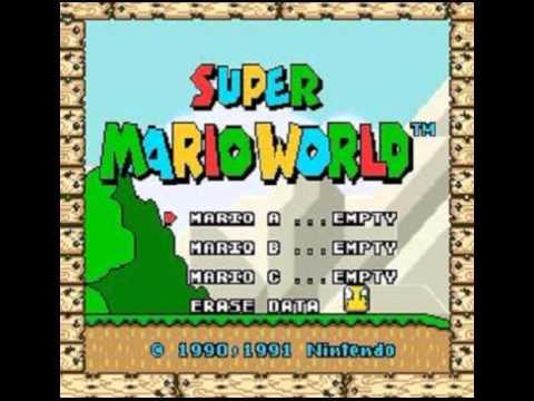 Super Mario World OST 08 Map 6 Koopa Castle