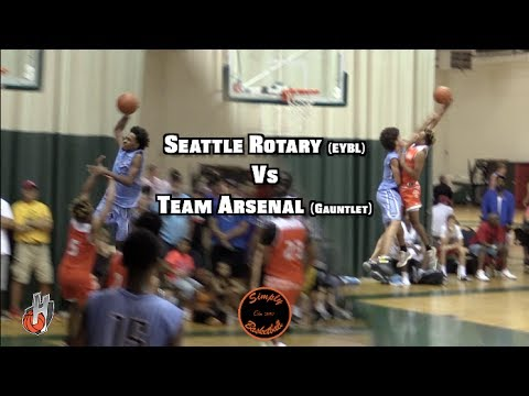 HEATED BATTLE Between Seattle Rotary & Team Arsenal I Nike Vs Adidas I PJ Fuller Shuts Down The Gym