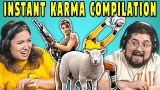 Video College Kids React To INSTANT KARMA Compilation MP3, 3GP, MP4, WEBM, AVI, FLV Maret 2019