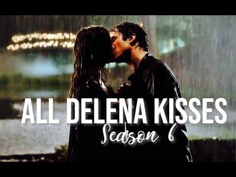 All Delena Kisses ♡ Season 6